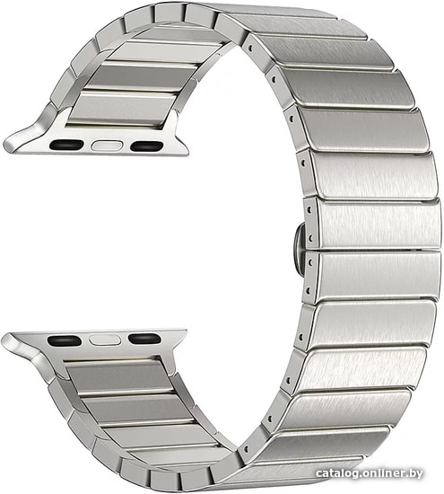 Lyambda Canopus для Apple Watch 38-40 мм (серебристый) ремешок купить в Минске