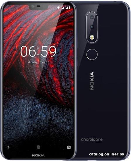 Nokia 6.1 Plus 4GB/64GB (синий) смартфон купить в Минске