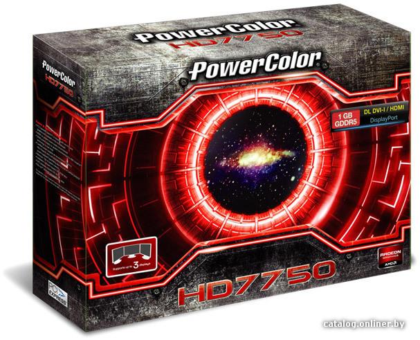 DRIVER: HD 7750 POWERCOLOR