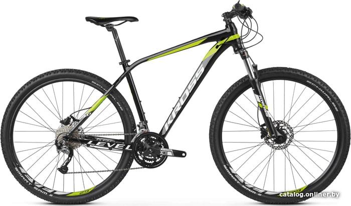 Kross Level 3.0 29 (черный/зеленый, 2019) велосипед купить в Минске